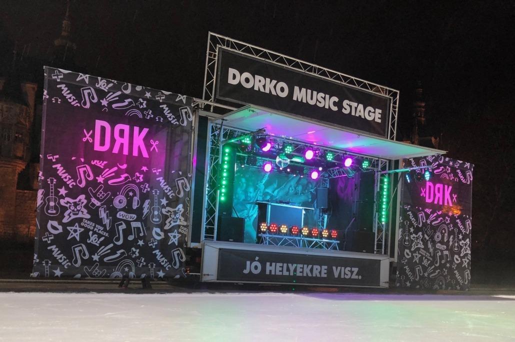 mobil színpad bérlés koncert dj
